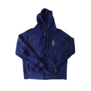 Polo Ralph Lauren Distressed Big Pony Hoodie